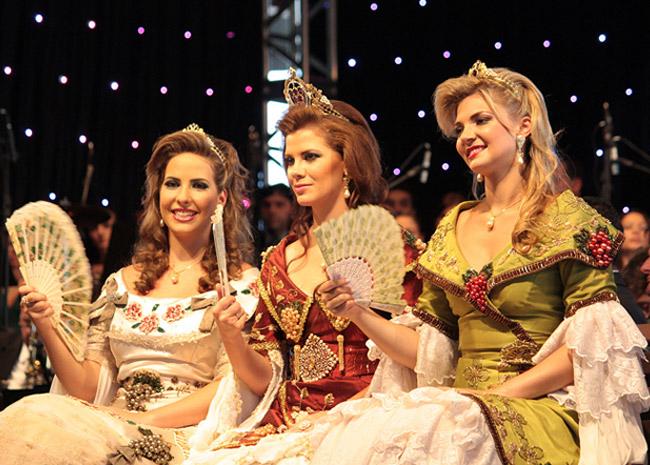 Rainha e princesas da Festa da Uva, Caxias do Sul